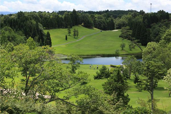 本格的なゴルフコース